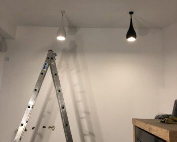 montaz oswietlenia